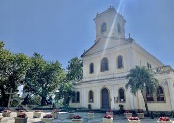 Taipa Carmo Church from Right Side Macau Lifestyle