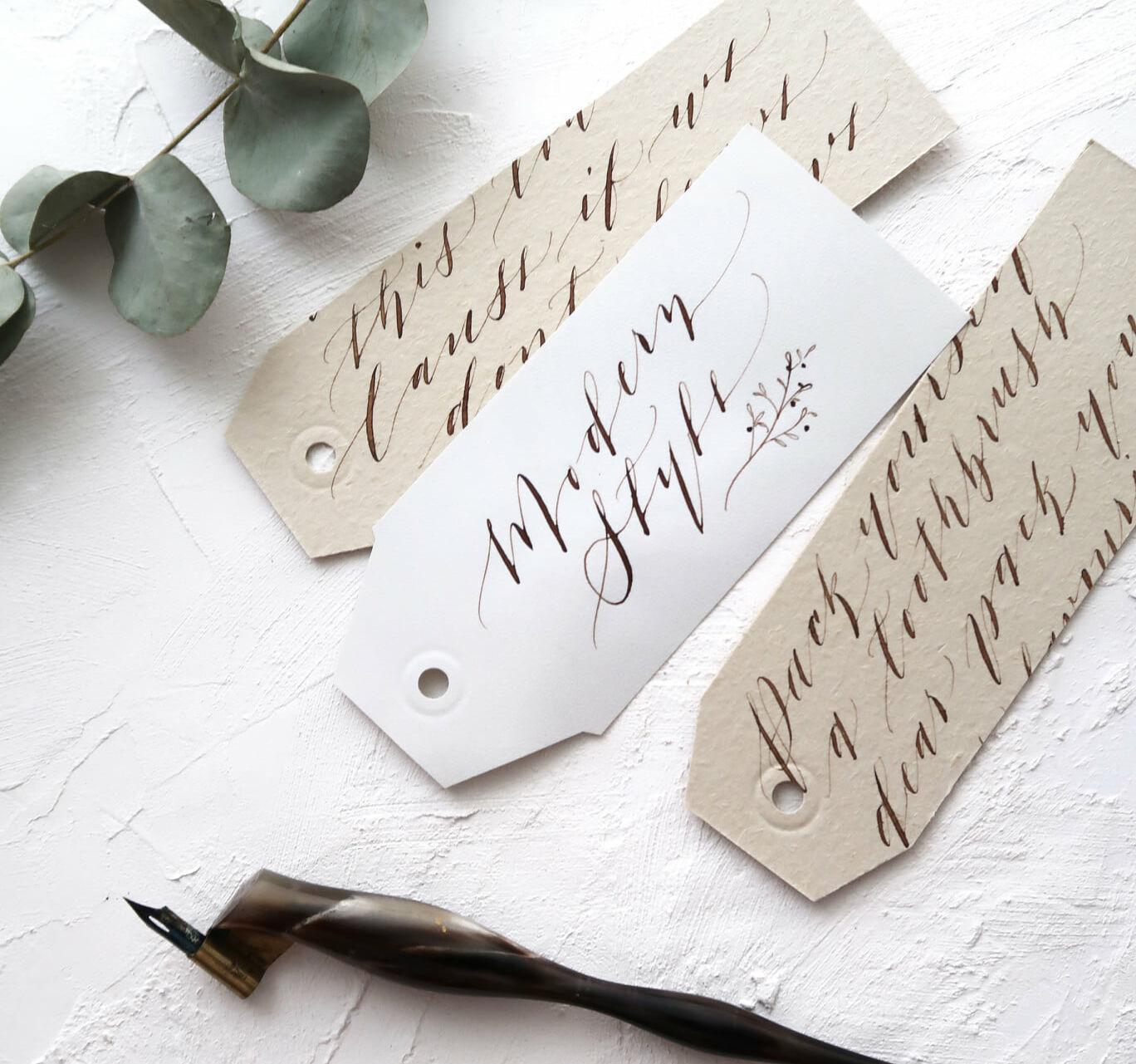 belinda chim calligraphy facebook page