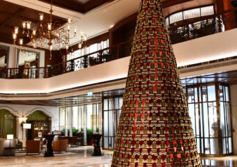 Grand Lapa Gingerbread Christmas Tree Macau 2020