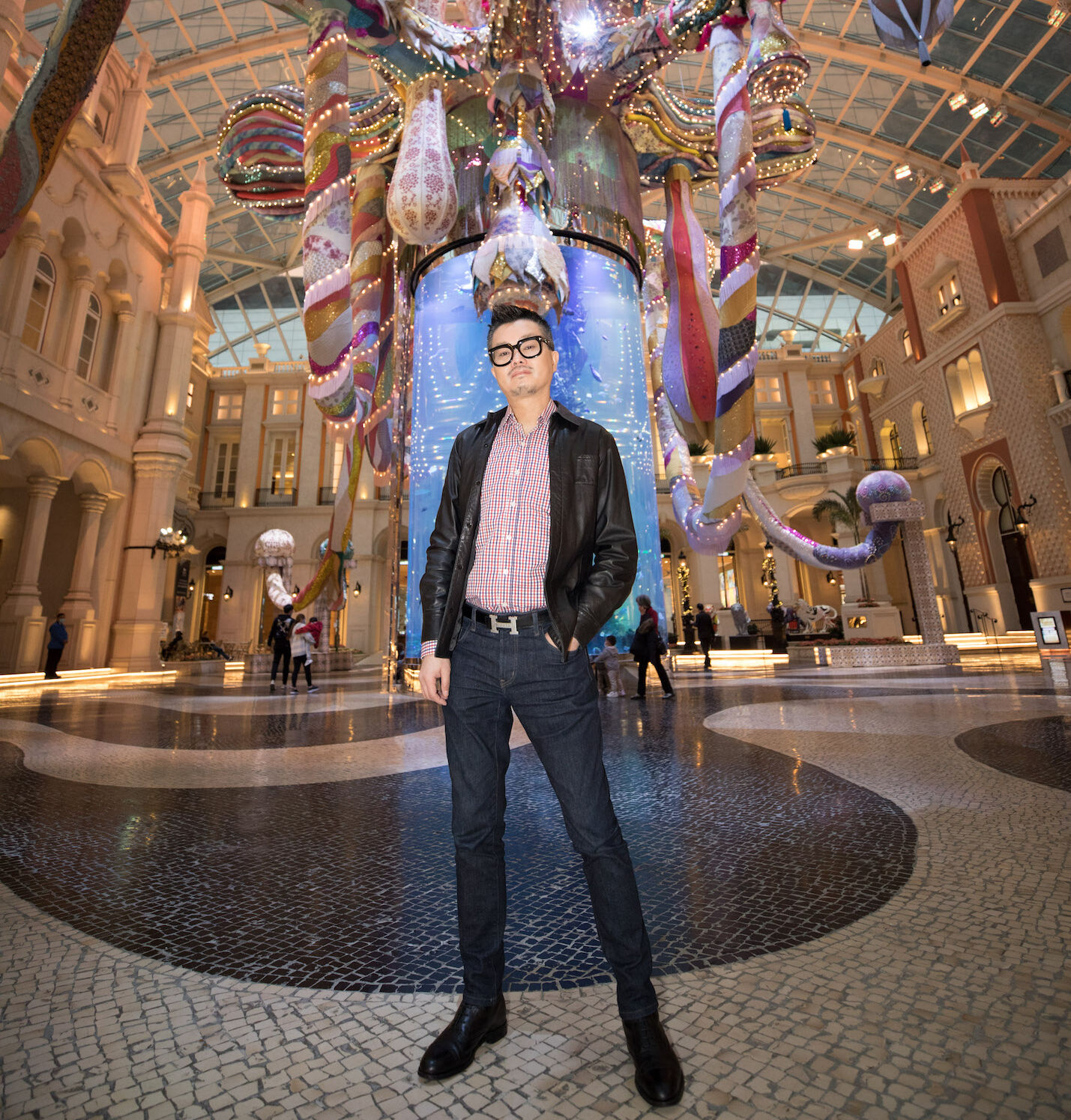 Jimmy Chung Vertical Standing at MGM Macau Rossio Square