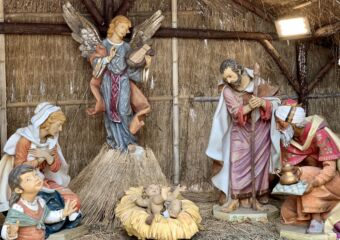 nativity set Macanese Christmas traditions and food