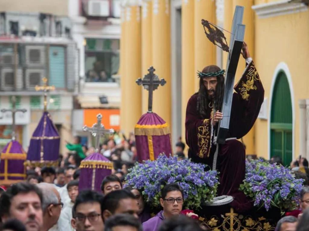Procession Jesus