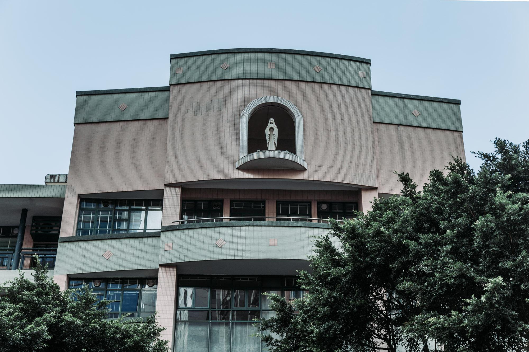 Santa Rosa de Lima Statue Macau Lifestyle