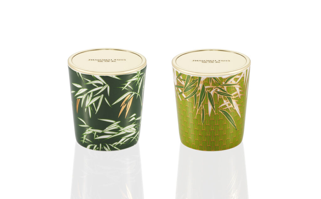 Shanghai Tang Bamboo Mini Scented Candle Set christmas gifts for home