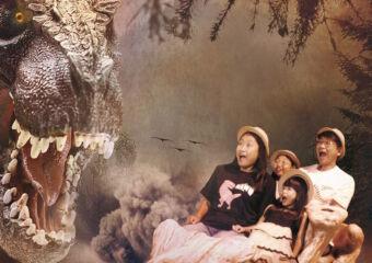 dinosaur exhibition at broadway