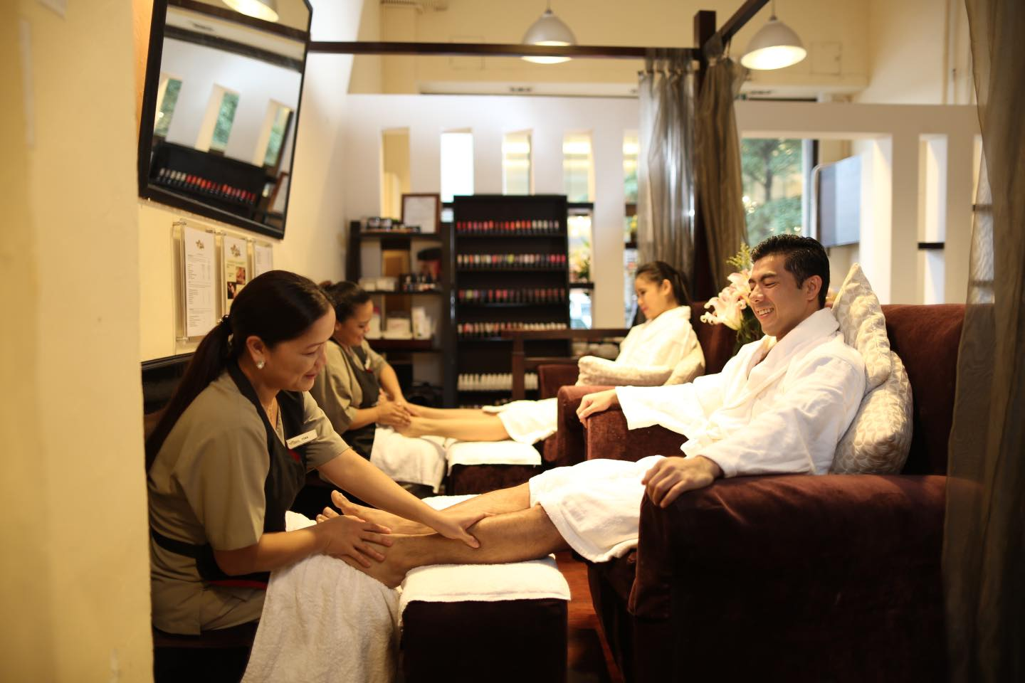 foot massage at La Belle Spa Macau