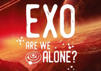 macao science center are we alone event poster