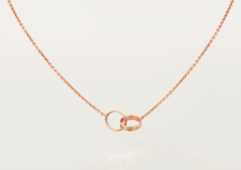 Cartier LOVE necklace_18K pink gold