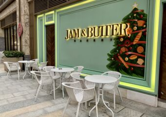 Jam & Butter alfresco seating