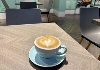 Jam & Butter coffee based drink latte