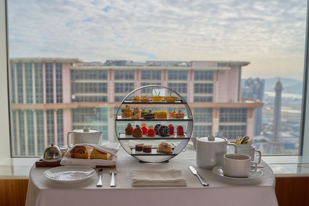 mothers day gift afternoon tea set at iridium spa st regis macao