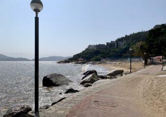 Cheoc Van Beach seaside walk