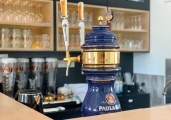 Paulaner Wirthsaus Macau tapped beer