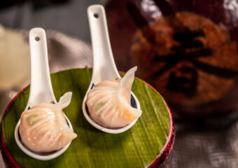 Chinese wine and dine at artyzen grand lapa macau dim sum on spoons