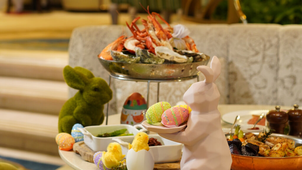 Easter Brunch Buffet at Café de Paris Monte-Carlo