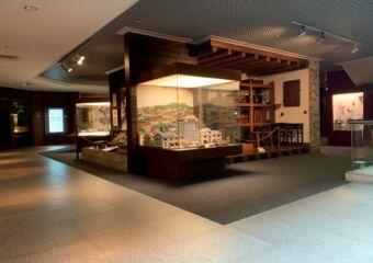 Macao Musem second floor wide view
