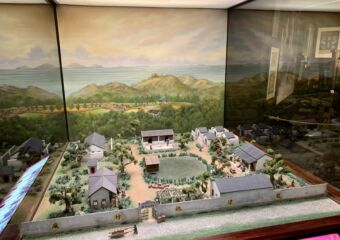 Macao Museum permanent exhibition fireworks plant model