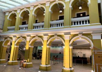 Macao Museum lobby