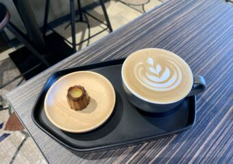 Macau Museum Cafe canele and signature coffee earl