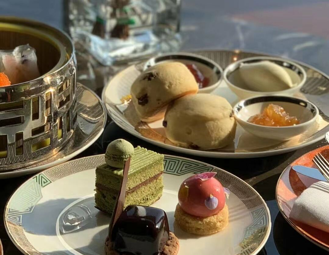 Ultimate Spring Afternoon Tea at Grand Club Close Up Photo
