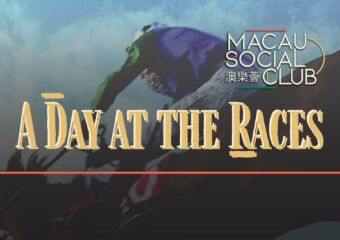 macau social club a day at the races poster