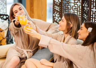 A Spa Day with Friends shine spa
