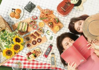 Food and Two Girl Friends A Date with Spring Picnic Experience at Sheraton Grand Macao