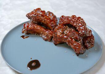 Four Seasons Macao Xiao Ting Braised Pork Ribs Glazed in Coffee Sauce