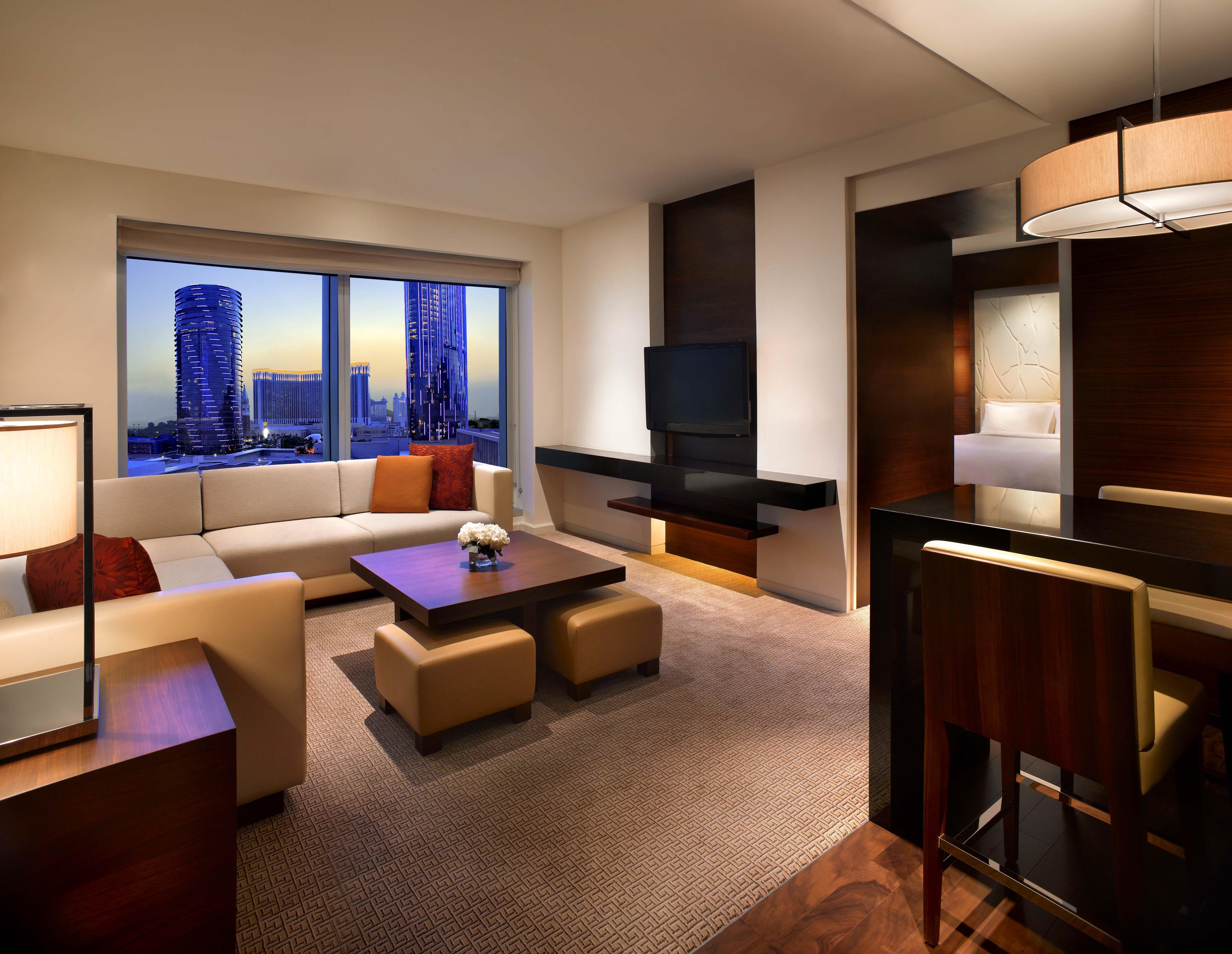 Grand Hyatt Macau Grand Suite King Living Room