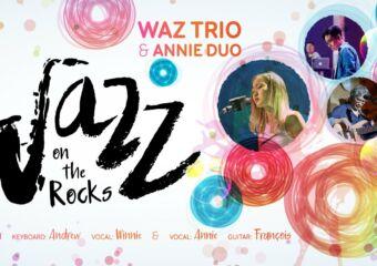 Jazz on the Rocks Macau Poster