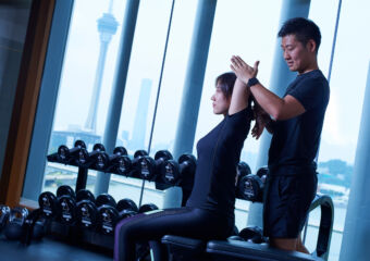 Personal Training Fitness Center Mandarin Oriental Macau