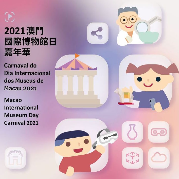Poster for International Museum Day Carnival