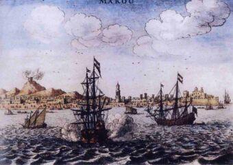 image circa 1606-1607 boats in macau