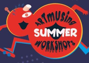Artmusing Workshops 2021 Banner