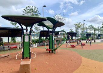 Kun Iam Statue Waterfront Leisure Area Outdoor fitness area