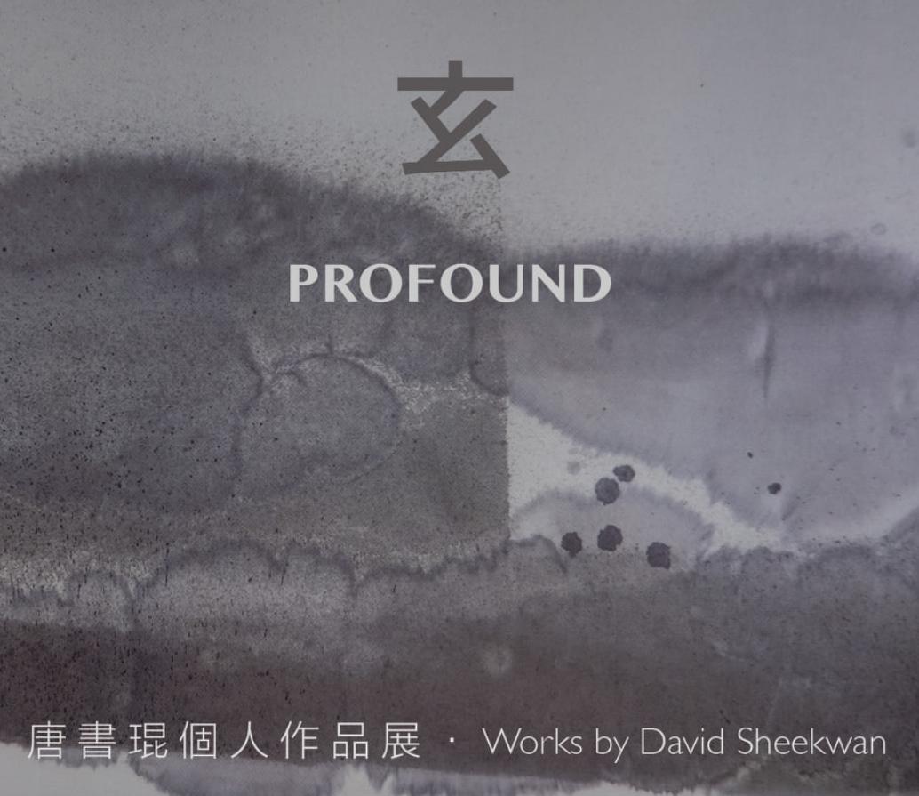 Profound David Sheekwan Exhibition Poster