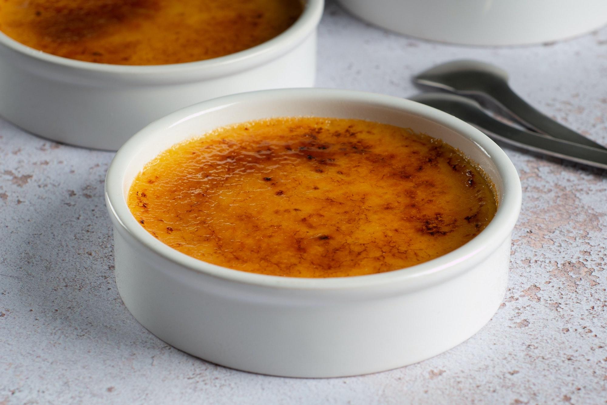 creme brulee French dessert Macau