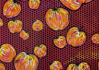 desire exhibition many apples