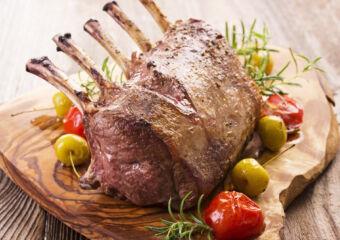 21122093 – roasted rack of veison