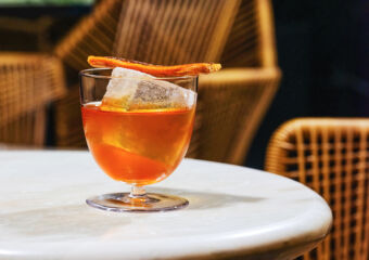 Orange Cocktail from Bar Stories Chapter 52 Scandal Vida Rica Bar