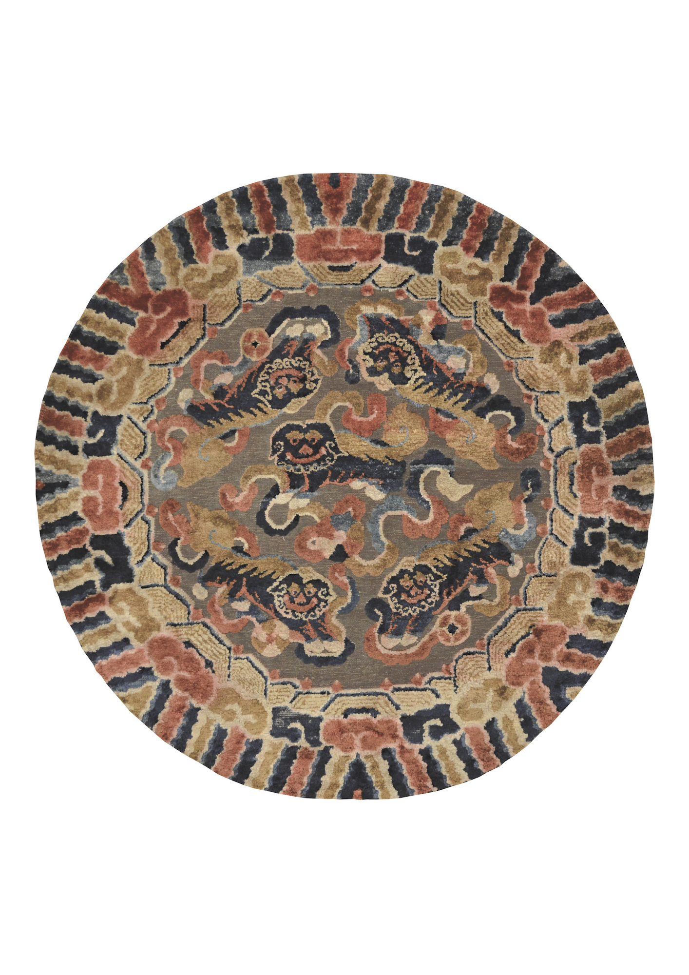 imperial carpet Five Lions at MGM Awakening Lion Exhibition 2021