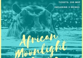 African Cruise Moon Season Image