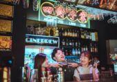 Cinebrew bar Stories at Vida Rica Bar