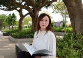 Sandy Leong Portrait in a Garden