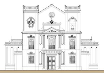 St Lawrence Church Sao Lourenco credits and source macauheritage dot net
